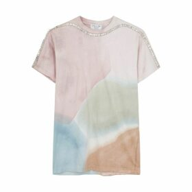 Collina Strada X Charlie Engham Sporty Spice Tie-dyed T-shirt