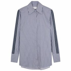 Victoria, Victoria Beckham Striped Cotton Shirt