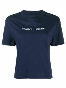 Tommy Jeans embroidered logo T-shirt - Blue