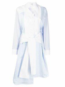 Loewe tie front dress - Blue