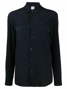 Aspesi button down silk shirt - Blue