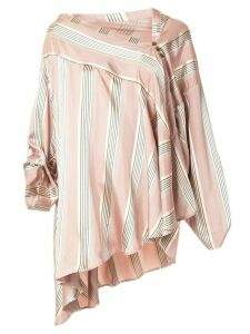 Palmer//Harding asymmetric triangle blouse - PINK