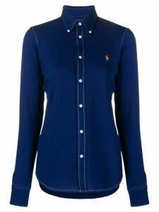 Ralph Lauren contrast stitched shirt - Blue