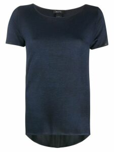 Avant Toi short sleeve loose fit top - Blue