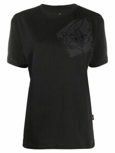 Vivienne Westwood Anglomania chest logo T-shirt - Black