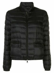 Moncler fitted padded jacket - Black