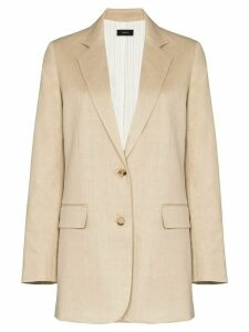 Joseph Mayfield single-breasted blazer - NEUTRALS