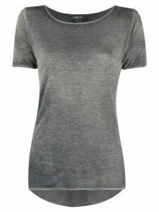 Avant Toi scoop neck T-shirt - Grey