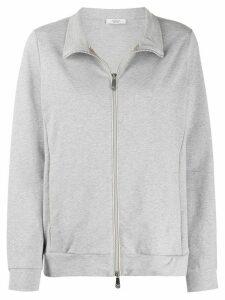 Peserico front zip sweatshirt - Grey