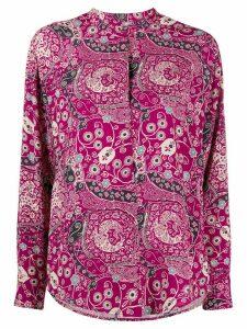 Isabel Marant Étoile paisley print blouse - PURPLE