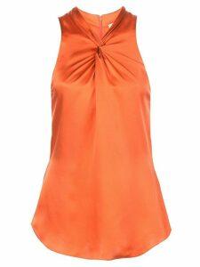 Cinq A Sept Lauren sleeveless top - ORANGE
