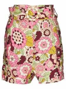 Dodo Bar Or Malca floral print shorts - PINK