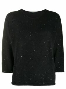 Peserico embellished relaxed jumper - Blue