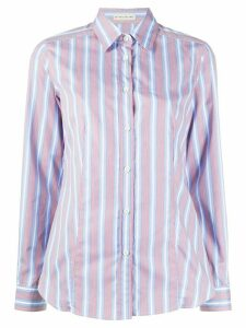 Etro striped slim-fit shirt - Blue