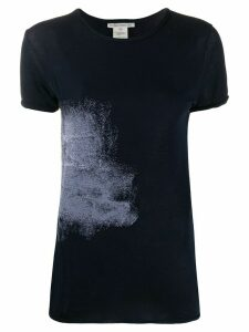 Stefano Mortari abstract print slim-fit T-shirt - Blue