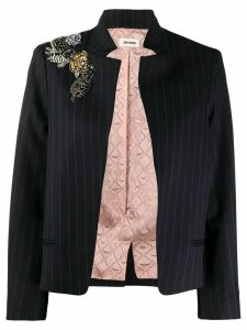 Zadig & Voltaire Vollys pinstripe blazer jacket - Blue