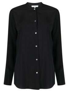 Vince fitted long-sleeved shirt - Blue