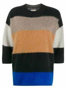Zadig & Voltaire panelled cashmere jumper - Black