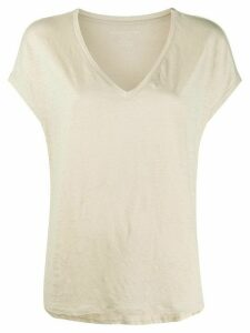 Majestic Filatures loose-fit plain T-shirt - NEUTRALS