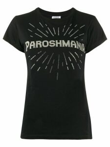 P.A.R.O.S.H. Comania slogan T-shirt - Black