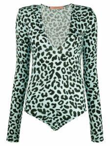 Andamane leopard print body - Blue