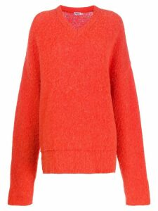 Filippa K Laurel oversized jumper - ORANGE