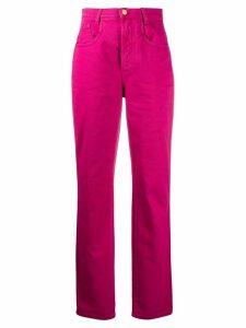 Alberta Ferretti slim-fit jeans - PINK