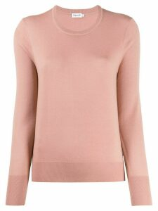 Filippa K round-neck knit jumper - PINK