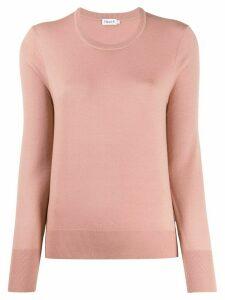 Filippa K round-neck knit jumper - PINK