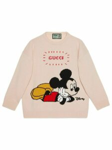 Gucci x Disney Mickey crew neck jumper - White