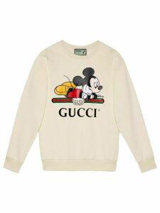 Gucci x Disney Mickey print sweatshirt - White