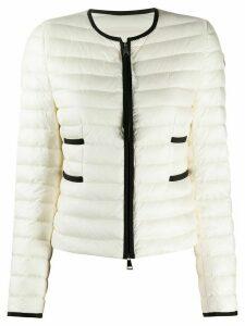 Moncler two-tone padded jacket - White