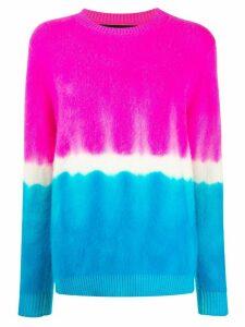 The Elder Statesman cashmere tie-dye jumper - PINK