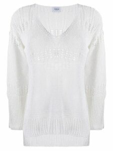 Dondup open knit top - White