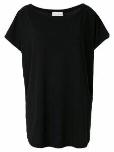 Faith Connexion oversized boat-neck T-shirt - Black
