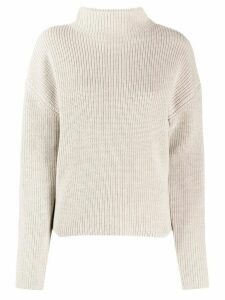 Filippa K Willow funnel neck jumper - NEUTRALS