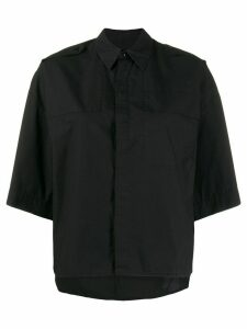 A.F.Vandevorst oversized short-sleeve shirt - Black