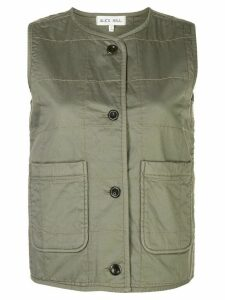 Alex Mill quilted gilet - Green