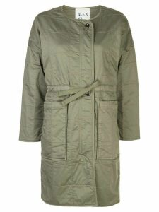 Alex Mill quilted oversized jacket - Green