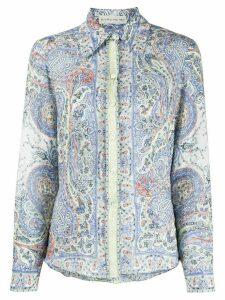 Etro paisley-print shirt - Blue
