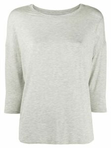 Majestic Filatures three-quarter sleeves T-shirt - Grey