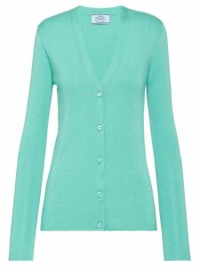 Prada V-neck cardigan - Green
