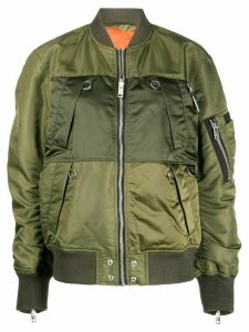 Diesel reversible bomber jacket - Green
