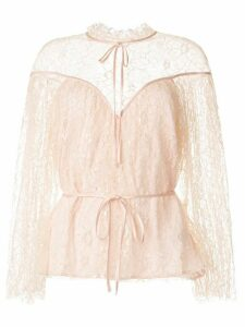 Alice McCall Magicians Daughter embroidered blouse - PINK