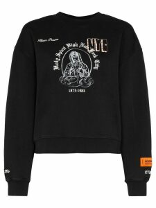 Heron Preston Holy Spirit-print sweatshirt - Black