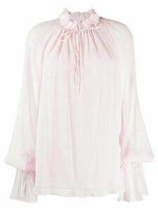 Redemption Pittore ruffle neck blouse - PINK
