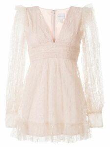 Alice McCall Floyd lace mini dress - PINK