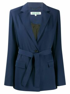 Kenzo belted blazer - Blue