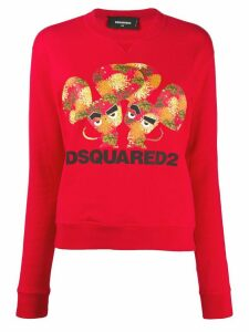 Dsquared2 mouse-print crew-neck sweatshirt