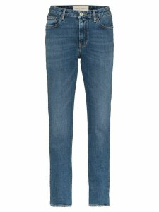 Jeanerica high-rise straight-leg jeans - Blue